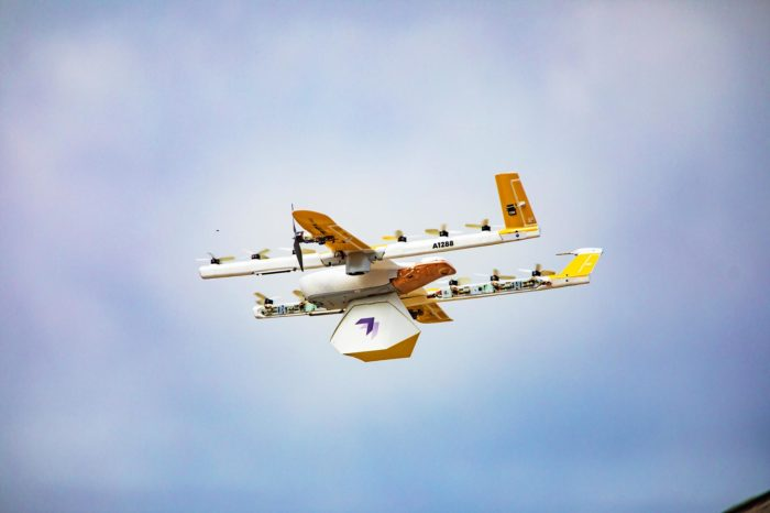 Drone Delivery Service Wing Takes Flight In Virginia