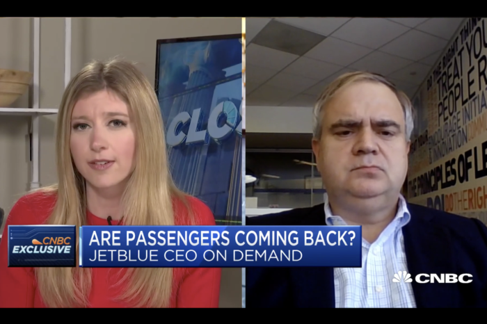 JetBlue's CEO On Flying Post-Coronavirus And The Recovery of Air Travel